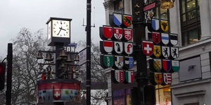 What Has 27 Bells, 11 Figures, 4 Ringers And A Couple Of Clocks? Leicester Square's Glockenspiel, Of Course