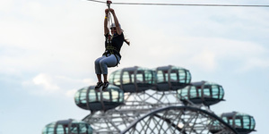 Wheeee! Speed Over London On A Huge Zip Wire This Summer