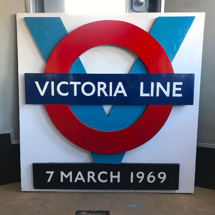 Victoria line's 50th anniversary