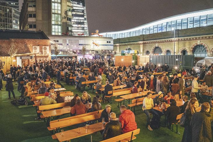 Vinegar Yard: London's New Street Food Market    With A