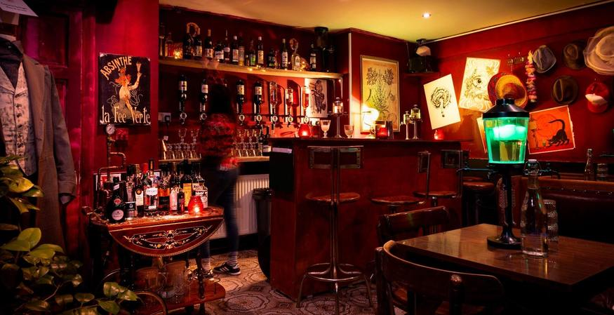 Review: Inside Camden's Bar Dedicated To Absinthe