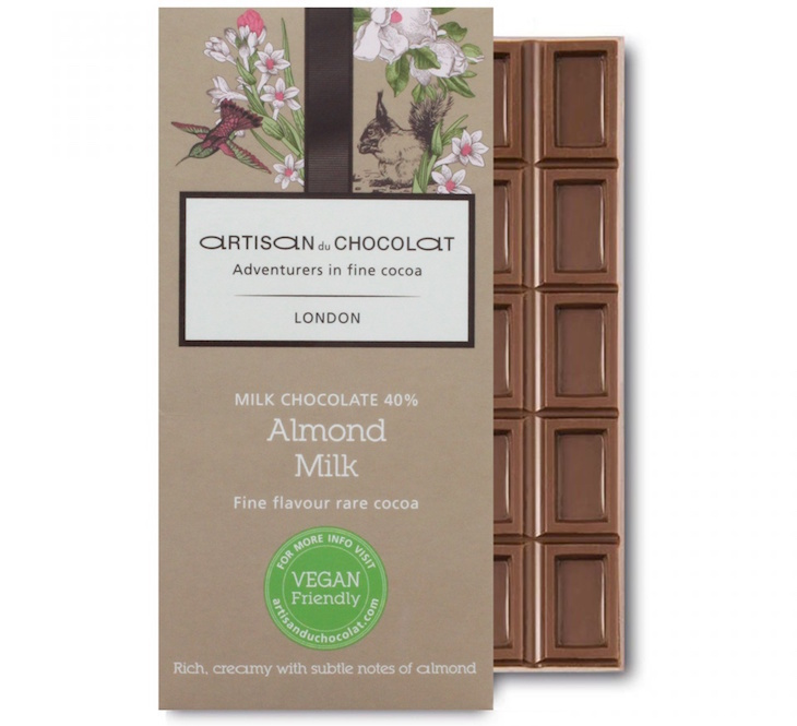 Vegan chocolate at Artisan du Chocolat: where to get vegan and dairy-free chocolate in London