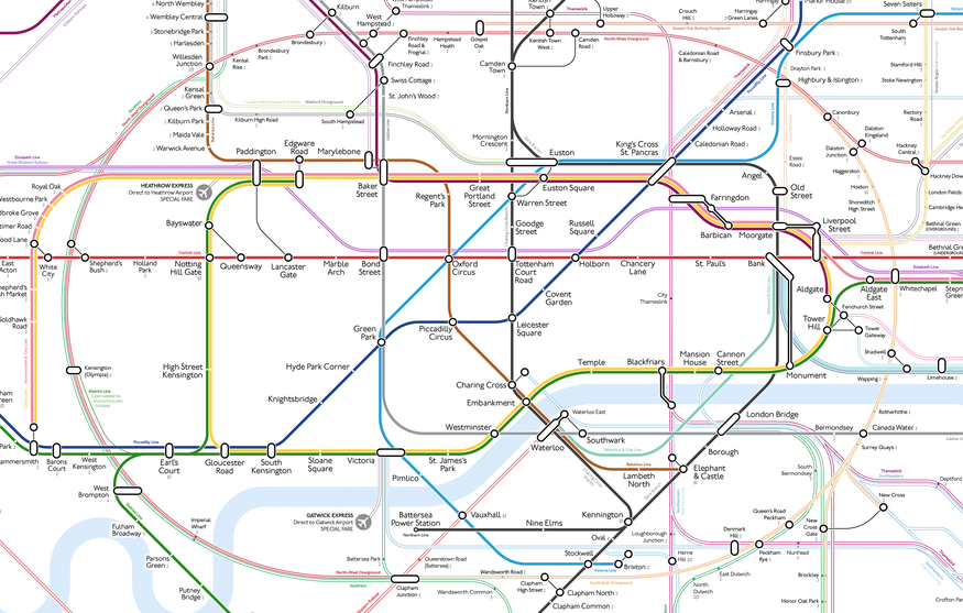 Better Than Beck? Decluttered Tube Map Wins Fans (And Haters