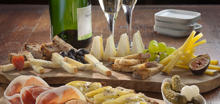 Best restaurants and cafes to eat cheese in London: Champagne + Fromage