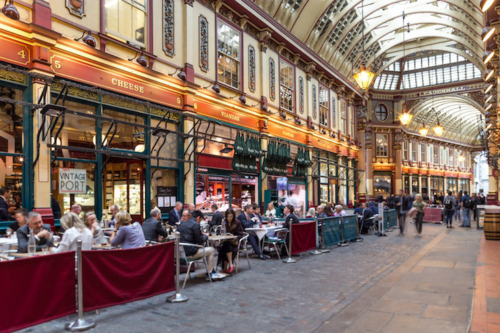 Best places to eat cheese in London: Cheese at Leadenhall