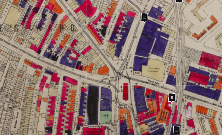 London Map Street.Was Your Street Bombed In The War Find Out With This Interactive