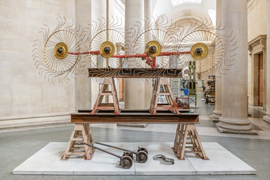 Tate Britain Gets A Fantastic Industrial Makeover Thanks To Artist