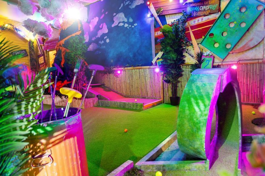 You Can BYOB To This New Adults-Only Crazy Golf Course