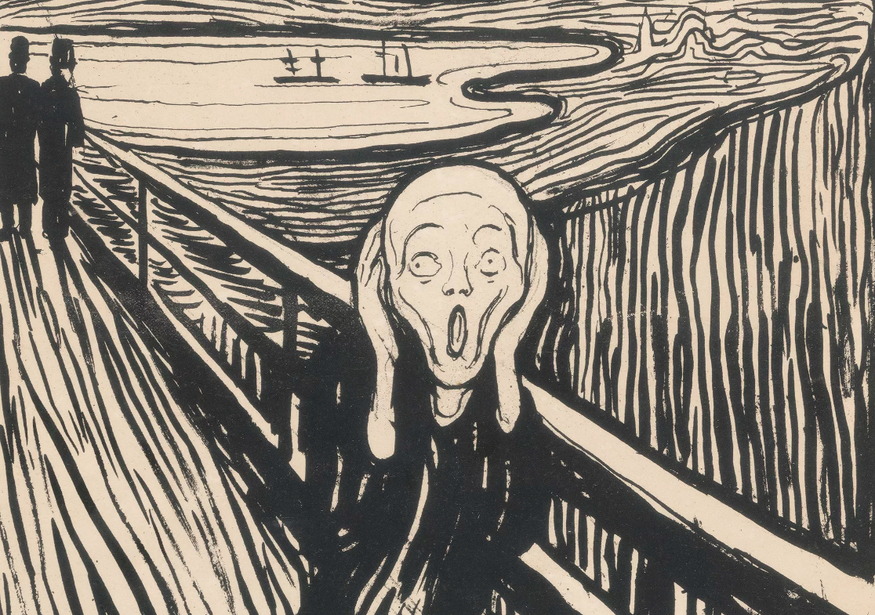 Arrggh Munchs The Scream Is Coming To London Londonist