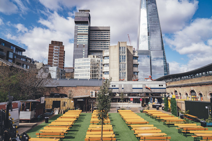 Vinegar Yard London S New Street Food Market With A