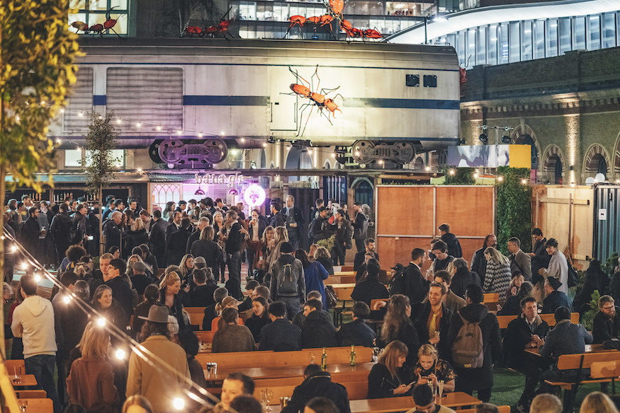 Vinegar Yard: London's New Street Food Market... With A Train Carriage On The Roof