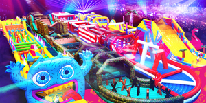 The Giant 'Monster' Inflatable Obstacle Course Is Returning To London