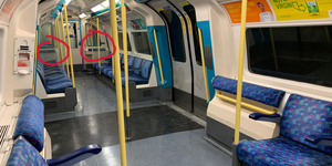 A Controversy Is Brewing Over The 'Bum Rests' On Tube Trains...