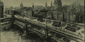 A London With Double-Decker Bridges And Floating Car Parks
