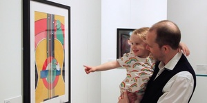 Here's What Happened When We Took Our 3 Year Old To This Fantastic Poster Exhibition