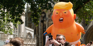 There Are Plans To Fly An Even Bigger Trump Baby Balloon Over London