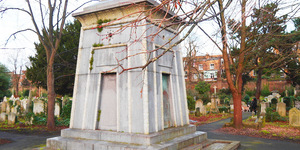 The Brompton Cemetery Tomb That's Rumoured To Be A Time Machine