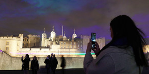 The 'Northern Lights' Have Appeared Over The Tower Of London