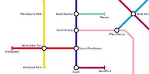 This Tube Map Arranges Stations By Shared Words... And It's Pretty Ingenious