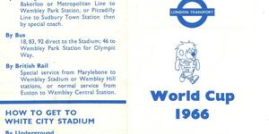 The Uber-Rare Tube Map Created For The 1966 World Cup
