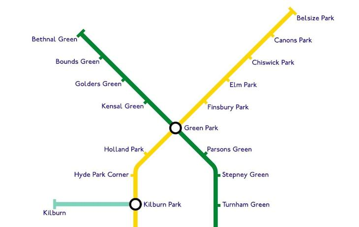 Map London To Oxford.This Tube Map Arranges Stations By Shared Words And It S Pretty