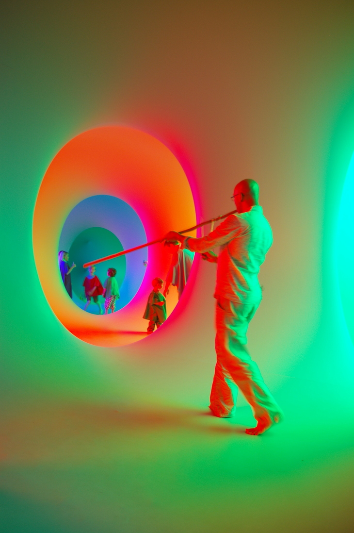 Explore This Psychedelic Maze Of Colour And Sound