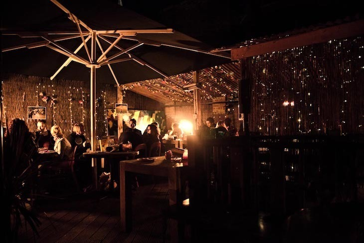Abbey Tavern's beer garden is one of the best in London