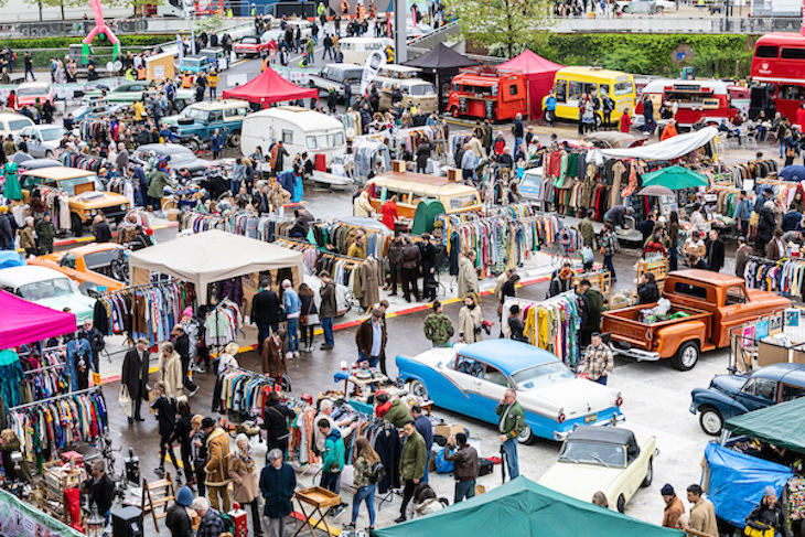 c9005865aee 120 Classic Vehicles Descend On London For This Huge Vintage ...
