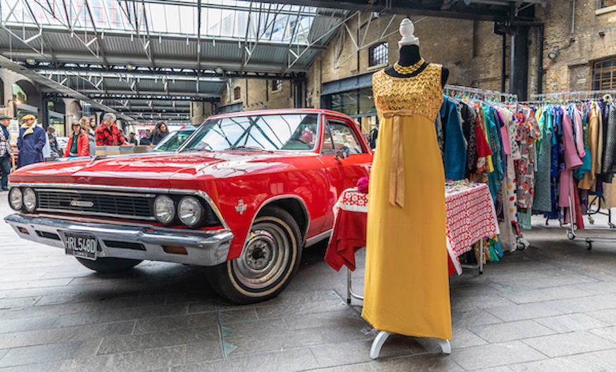 120 Classic Vehicles Descend On London For This Huge Vintage