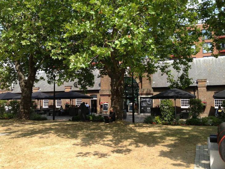 Lots of places at Dial Arch to enjoy the sun with a beer: London's best pub gardens