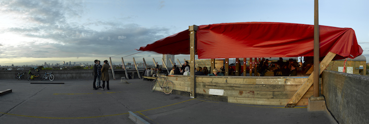 Bar, pub, cafe. Whatever you want to call it, Frank's has one of the best beer gardens in London