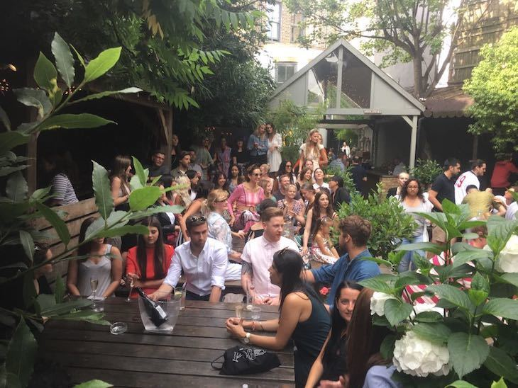 Best beer gardens in London, including Garden Bar White City
