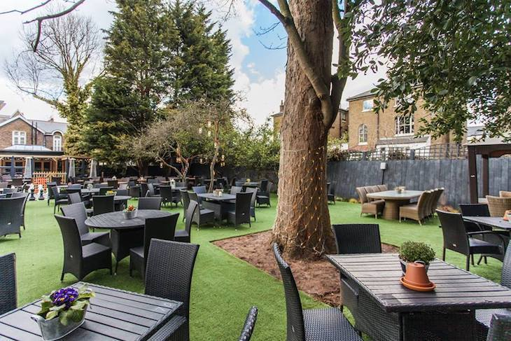 The Marlborough Richmond, one of London's best beer gardens