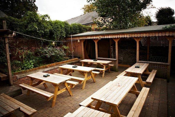 Best pub gardens in London: North Star