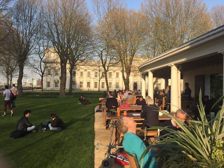 Best pub garden in London: Greenwich's Old Brewery