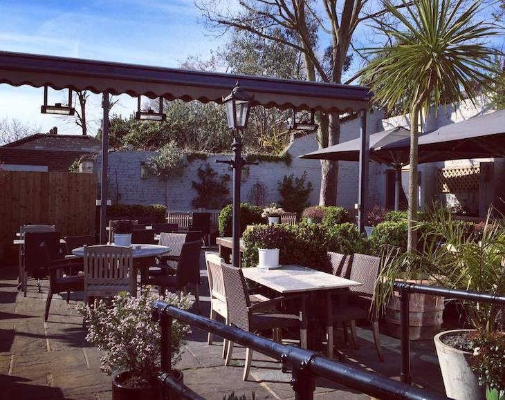 Princess of Wales in Blackheath has a great pub garden for a beer in the sun