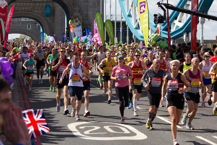 Where to watch the London Marathon
