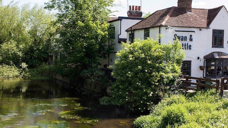 Watch the canal from one of London's best beer gardens