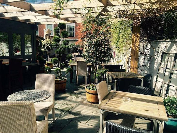 Looking for a beer garden in London? Thatched House is one of the best.
