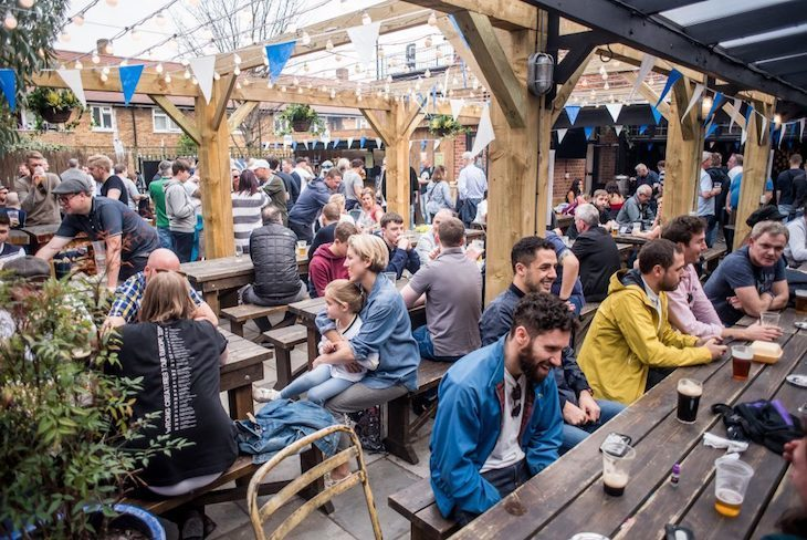 London's best beer gardens: The Beehive in Tottenham