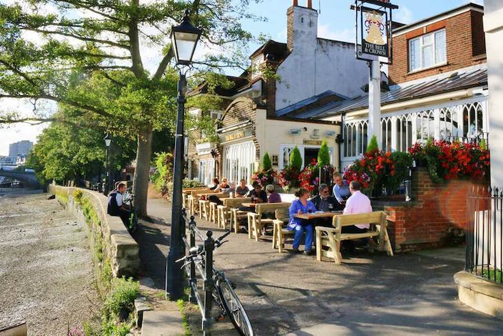 London's best beer gardens: The Bell and Crown in Chiswick