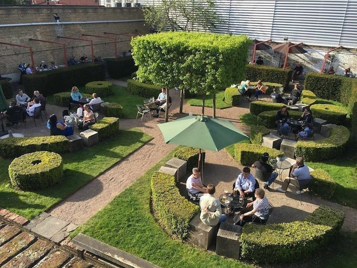 The Dolphin in Sydenham boasts one of London's best beer gardens