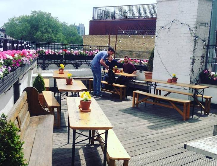 The Fox Craft Beer House, Haggerston: best pub gardens in London
