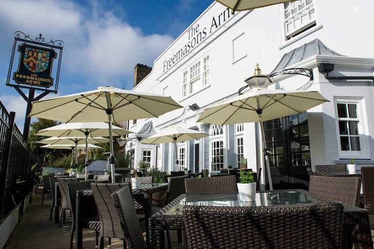 Best beer gardens in London: The Freemasons Arms