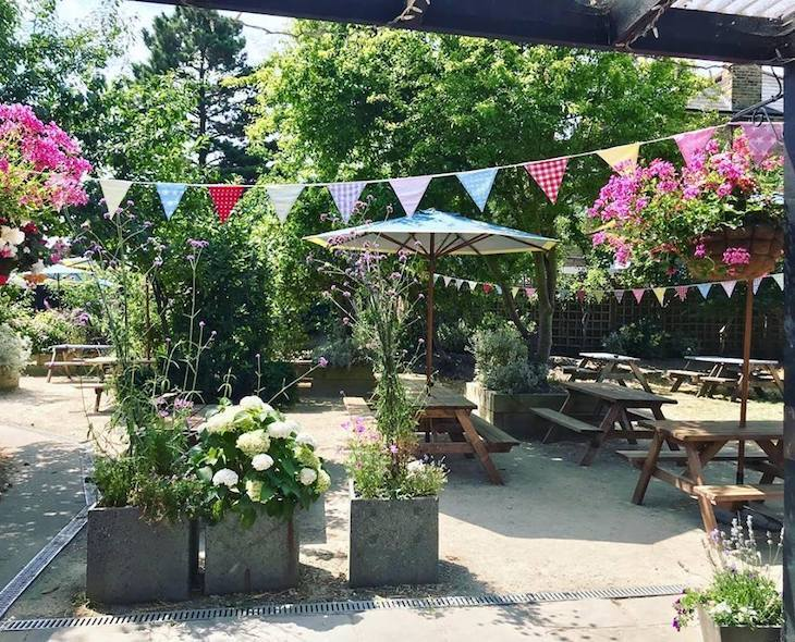The Herne Tavern is one of London's best beer gardens