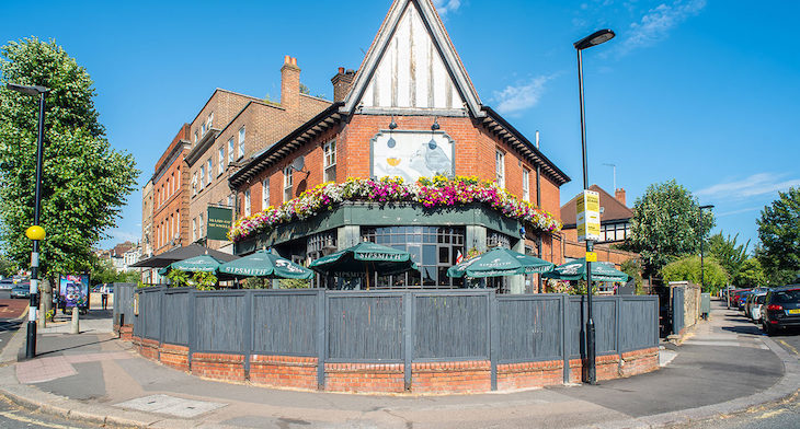 The Maid of Muswell, one of London's best pub gardens