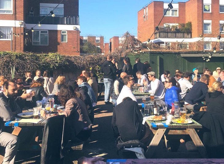 London's best beer gardens: The Old George in Bethnal Green is a contender
