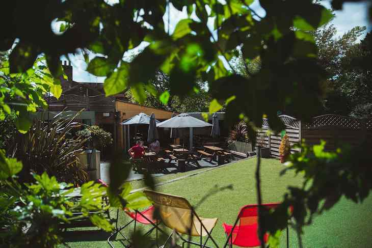 Enjoy one of London's best beer gardens at The Vanbrugh in Greenwich
