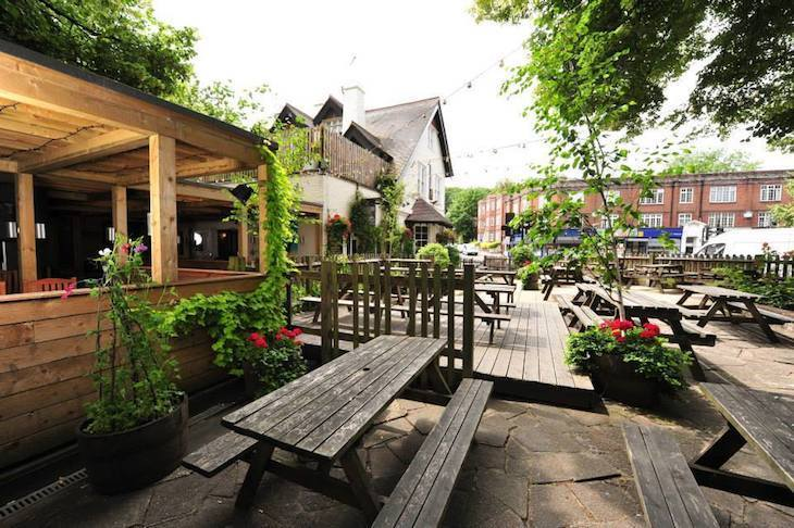 Best beer gardens in London: The Woodman