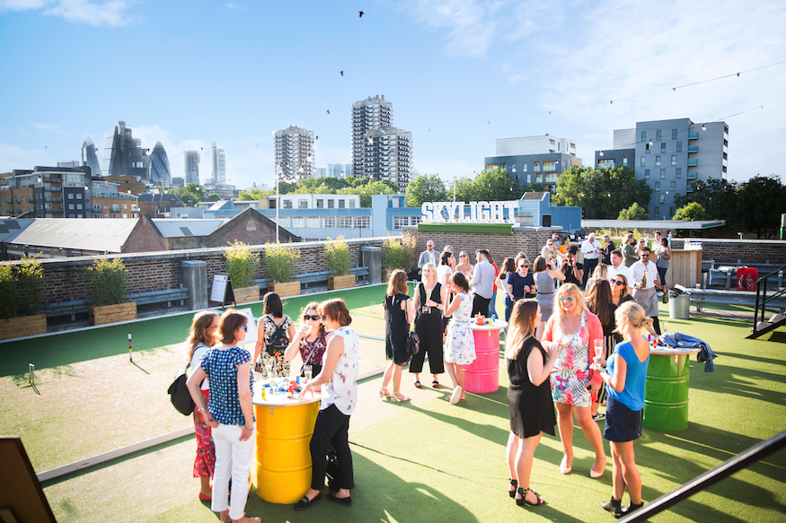 Pétanque, Pimm's And Panoramic Views: Skylight At Tobacco Dock Announces Its Summer Launch Date